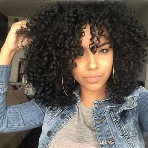 best hair style for kinky hair plus woman over 50 cheap hot selling bob kinky curly wig simulation human