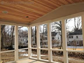 Pictures Of Beadboard Ceilings - homewood in kirkwood vaulted porch ceiling amp pvc framing