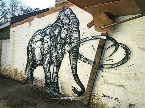 street artist dzia creates beautifully detailed animal art