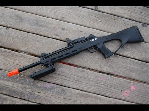 airsoft gi futuristic sniper rifles the aac 21 aac honey badger inspired custom airsoft ar build part