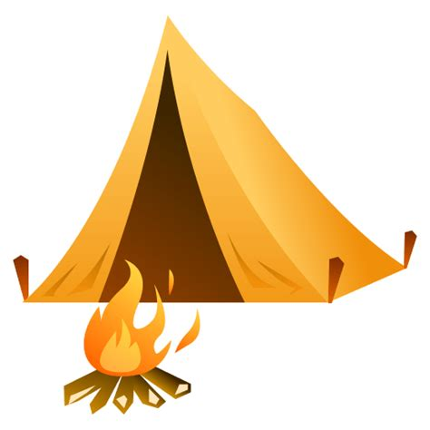 transparent tent list of phantom travel places emojis for use as facebook