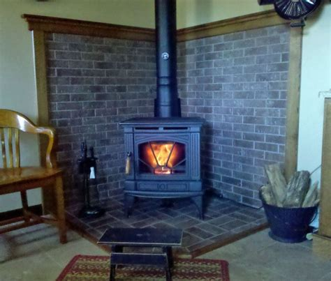 corner wood stove hearth ideas visit imagessearchyahoo