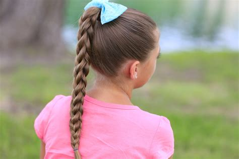 easy hairstyles dads can do 3d split braid three different looks cute girls hairstyles