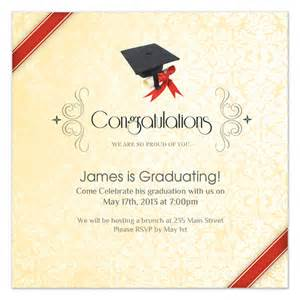 graduation cap invitations cards on pingg
