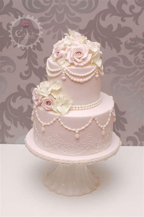 Hochzeitstorte Classic by Hochzeitstorte Vintage Cake Hochzeitstorte