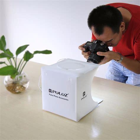 Studio Photo Studio Mini Dengan Lu Led puluz photo studio mini dengan lu 2 led white jakartanotebook