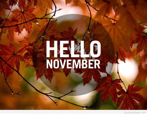 november images hello november quotes pictures and wallpapers