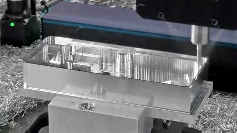 electronics housing machining datron high speed milling