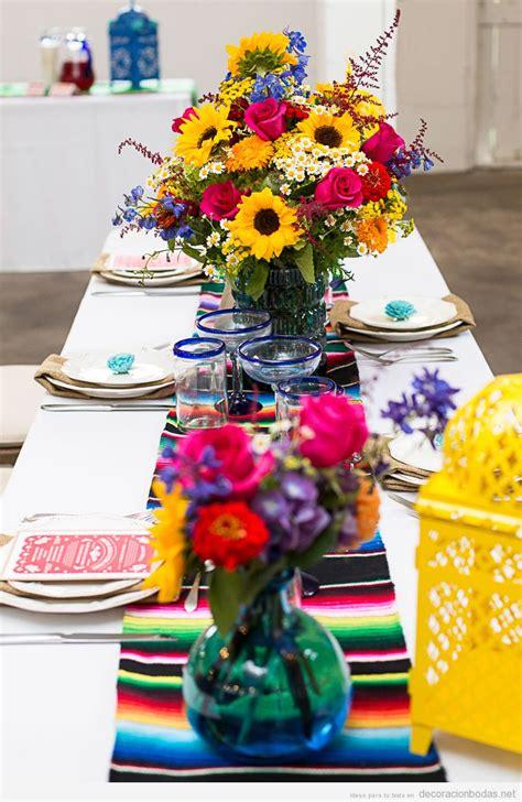 decorar mesa mexicana mesas y salones archivos decoraci 243 n bodas