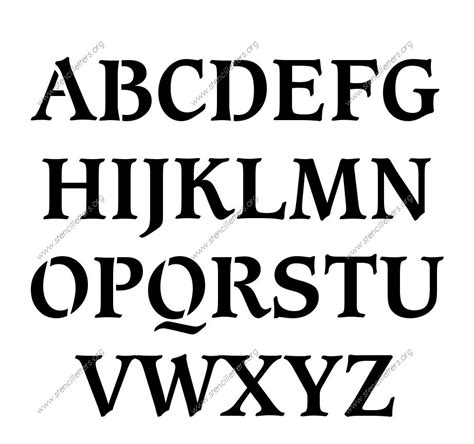 printable letters various fonts images of different fonts and bold styles english letters