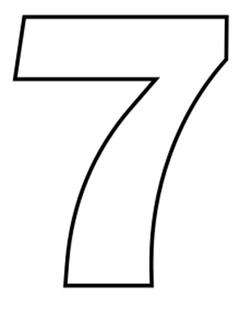 Wikijunior Classic Alphabet Coloring Book 7 Wikibooks Number 7 Coloring Page