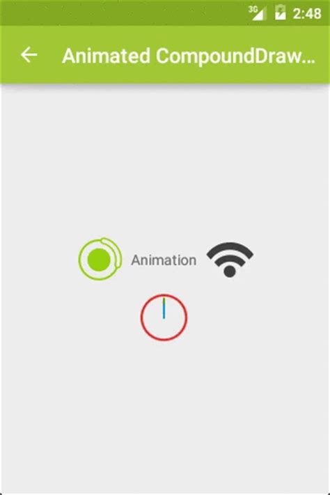 android layout animation xml exle advanced android textview