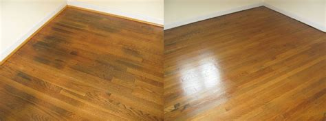 Refinished Hardwood Floors Before And After Hardwood Floor Refinishing Before After Gallery Buff Coat Richmond Midlothian