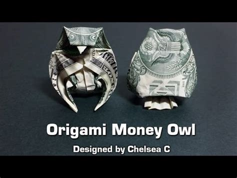 Dollar Origami Owl - dollar bill origami owl money origami