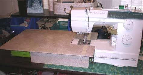 sewing machine extension table simply curious