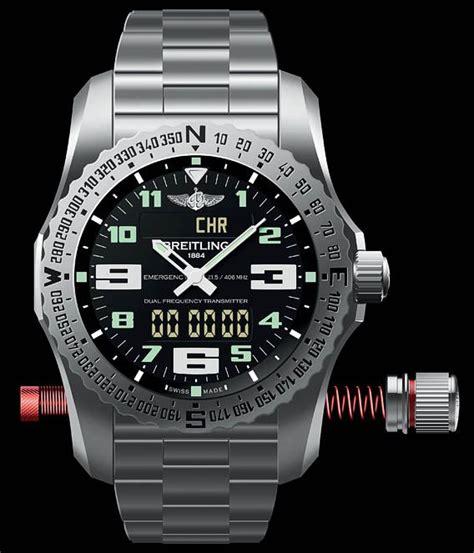 Lu Emergency L nouvelle breitling emergency 2 une montre balise de d 233 tresse