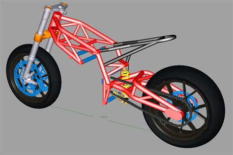 design motorbike frame sheeking motorcycle blogs sv650 chassis design concept