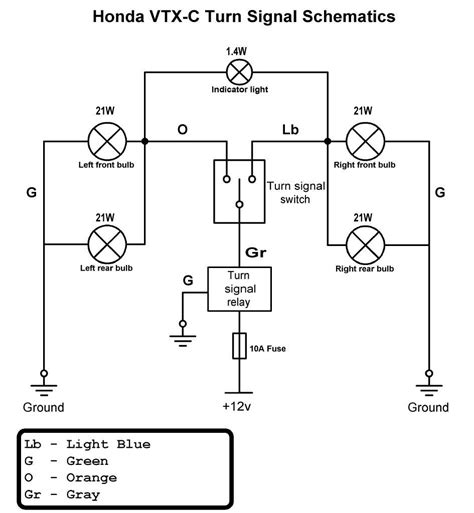 turn signal flasher diagram signal free printable