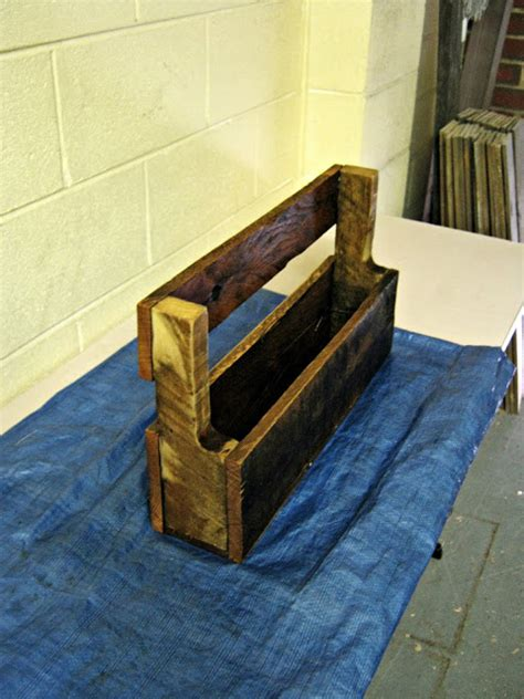 Wall Mounted Planter Box by The Re Workshop Wall Mounted Planter Box Wood Pallet