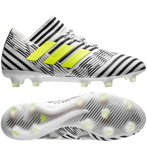 Adidas Nemeziz 17 Black Solar Yellow adidas nemeziz 17 1 fg ag dust footwear white solar yellow black www