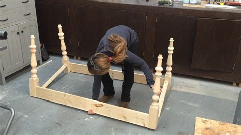 how to build a table base for a granite top how to build a farmhouse table part 1 table base with