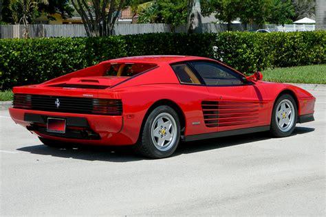 Ferrari 90er by 1990 Ferrari Testarossa 194402