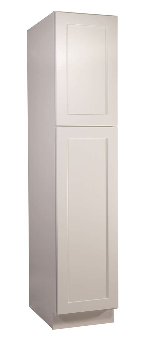 white shaker pantry cabinet brookings 18 quot fully assembled kitchen pantry cabinet