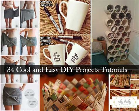 easy diy home projects 31 easy and perfect diy projects decor advisor
