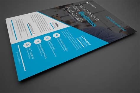 corporate flyer template workshop stockindesign free corporate business flyer