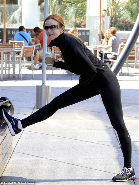 Marcia Cross Diet And Workout by Marcia Cross Is Chic As She Stretches In A Sleek