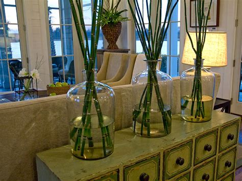 large home decor accents a natural wall accessorize large vases with bamboo to