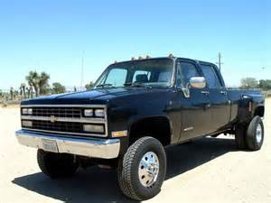 1989 chevy crew cab dually 4x4 trucks