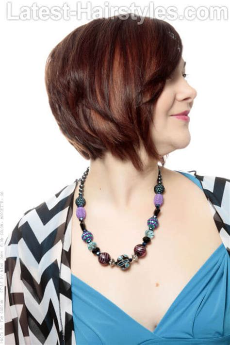 side views chin length hair 39 short hairstyles for round faces you can rock
