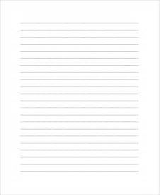 printable lined essay paper
