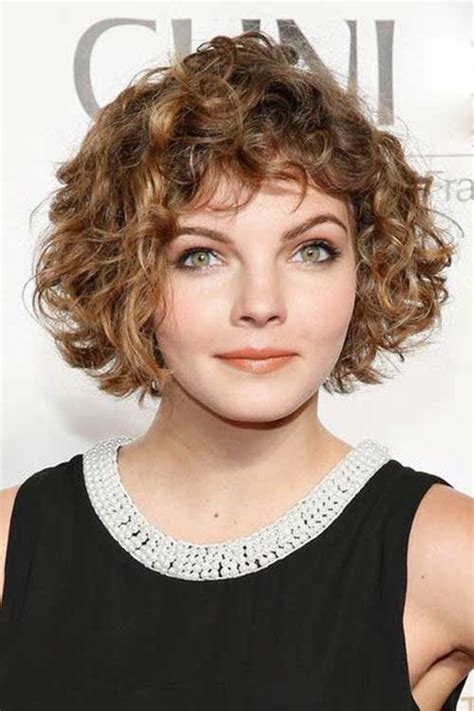 haircuts for curly hair short with bangs 20 short curly hair with bangs short hairstyles