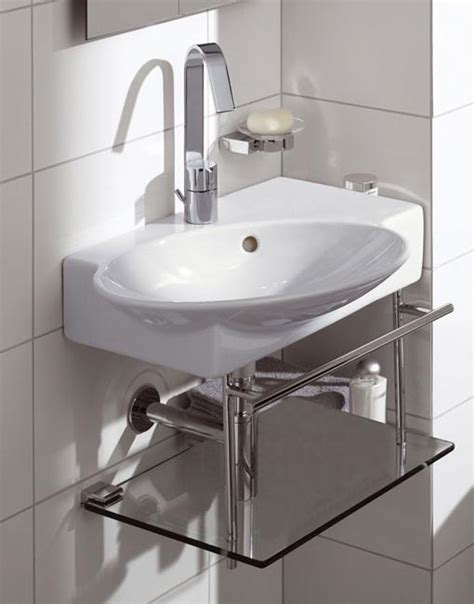 sink small bathroom corner bathroom sinks creating space saving modern