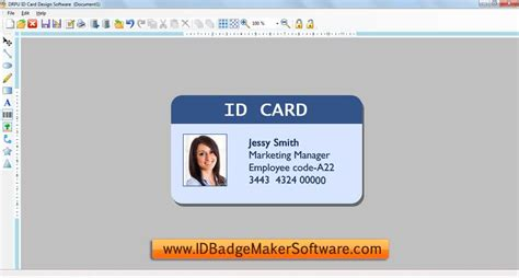 free printable id card maker id badge maker software full windows 7 screenshot