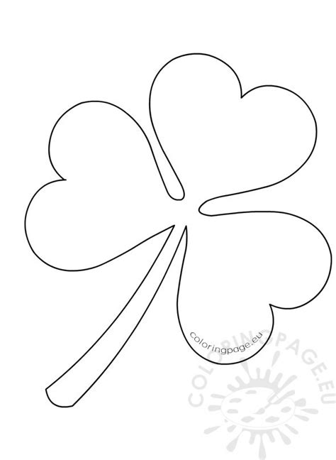 kid color pages for st patricks day coloring page 3 leaf