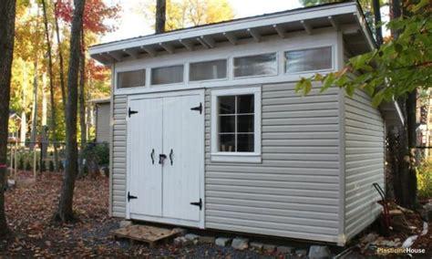 build  shed   slanted roof step  step