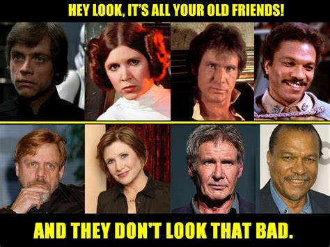 Lando Calrissian Meme - better with age indeed funny