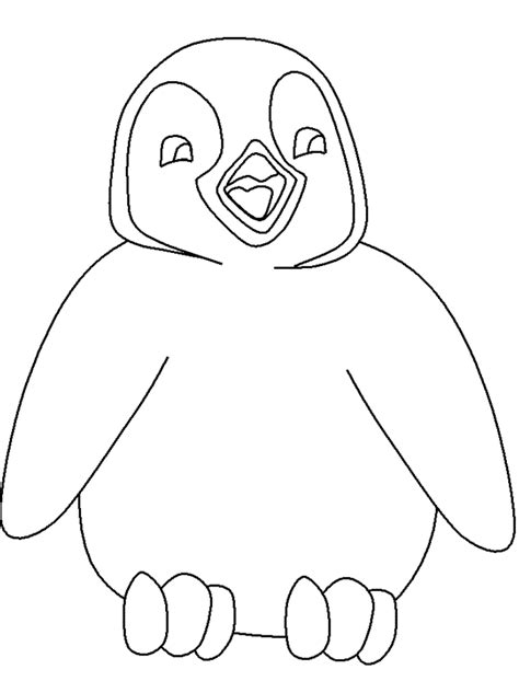 penguin coloring pages for toddlers penguin coloring pages coloring kids