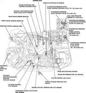1999 acura cl egr valve engine mechanical problem 1999