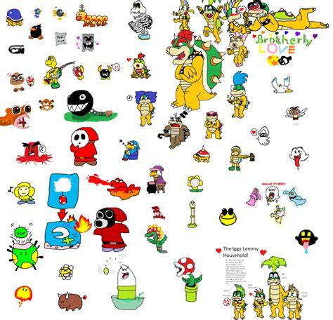 new year animals enemies image gallery mario enemies