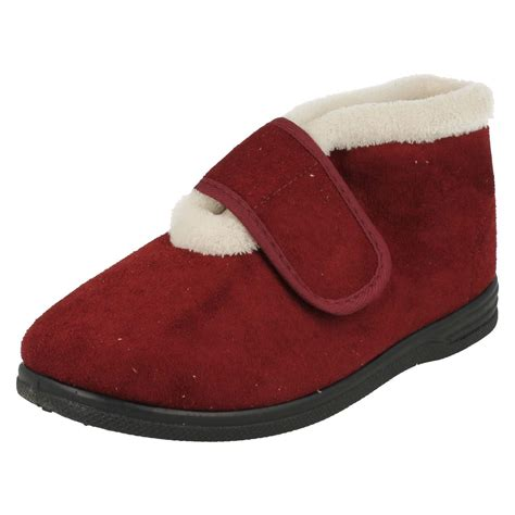 dc house slippers ladies sandpiper fleece lined house slippers iola ebay
