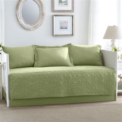 Daybed Sheets And Comforters by Felicity Light Green Daybed From Beddingstyle