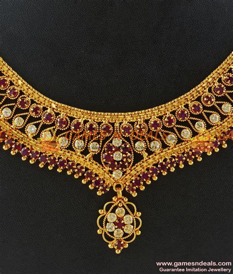 heavy weight should wear choket nckn153 grand heavy handmade party wear princess type