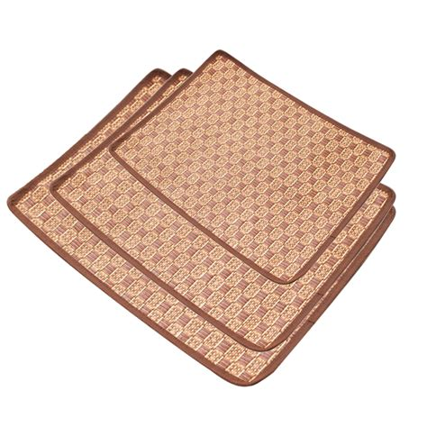 Bamboo Sleeping Mat by Pet Cat Summer Cooling Bed Straw Bamboo Cozy