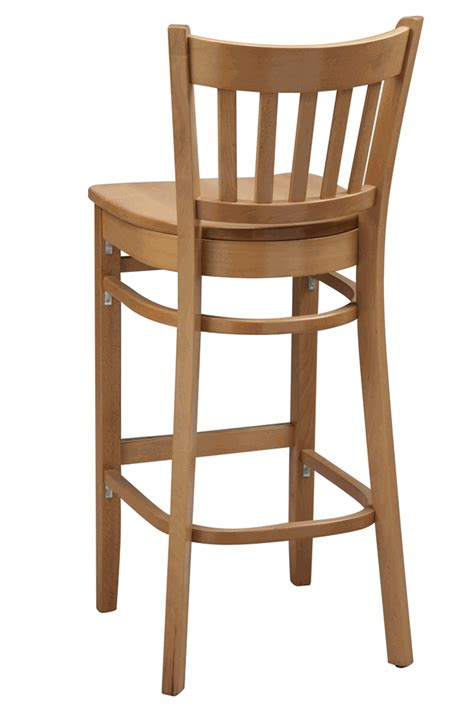 How To Build A Wooden Bar Stool by Regal Seating Series 2423 Vertical Back Wooden Counter
