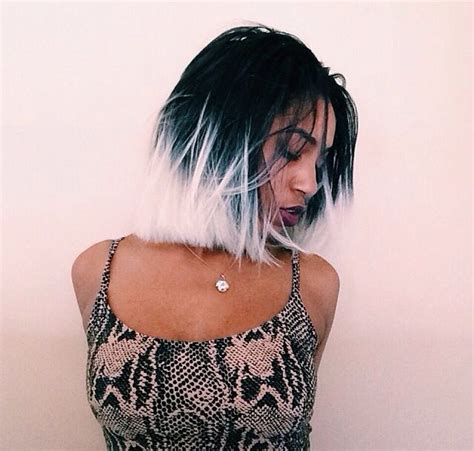 can gray hair turn black again best 25 two toned hairstyles ideas on pinterest hair