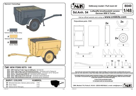 trailer german cmk kits eshop